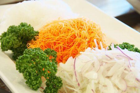 Fresh raw vetetables
