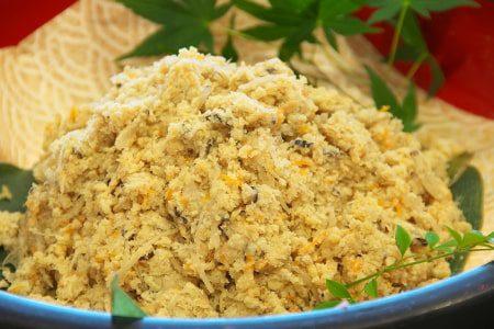 Okara (soybean curd)