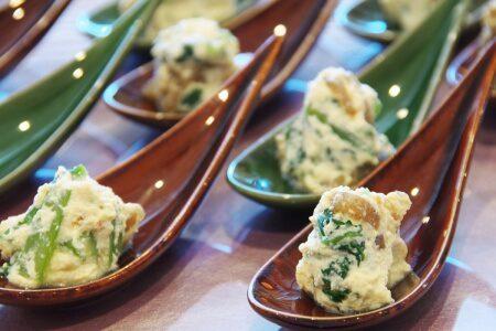 Shiraae (Tofu salad)