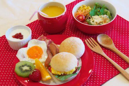 高知のホテル 城西館の朝食ビュッフェ