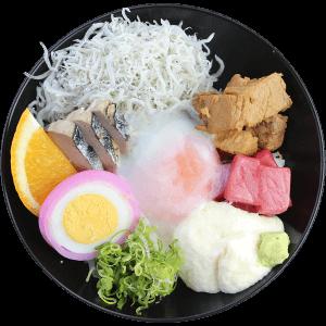 ご当地丼「土佐丼(土佐盛り風)」