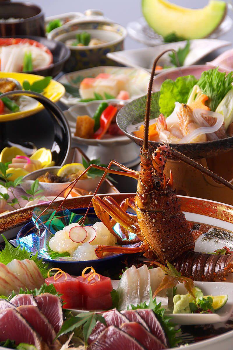 """Japanese dish """"Sawachi ryori"""""""