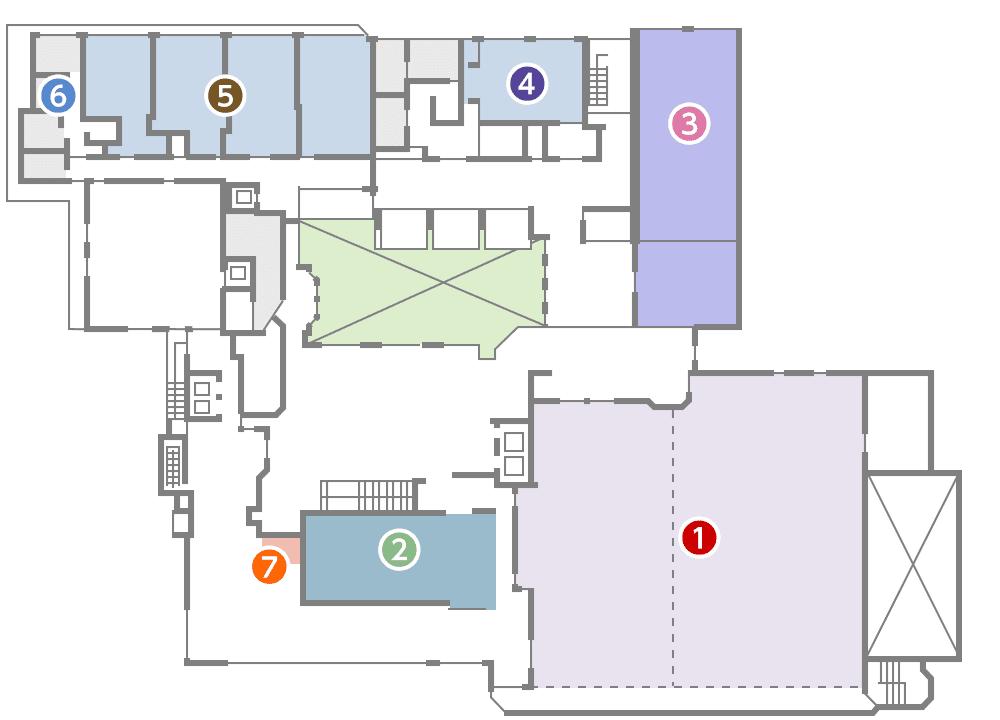 城西館 3樓 層面圖