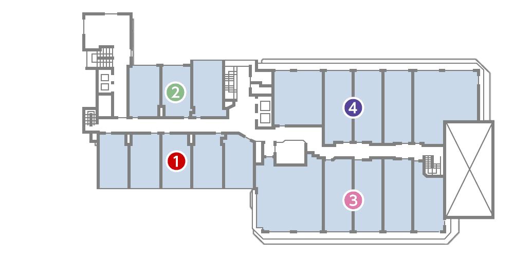 城西館 7樓 層面圖