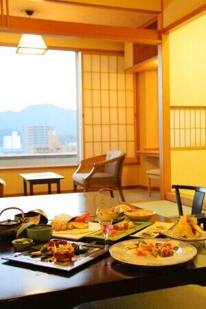 高知の旅館 城西館 千寿 和室