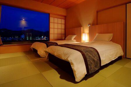 【千寿】和洋特別室〈ツインベッド92平米〉