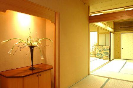 高知の旅館 城西館 特別室