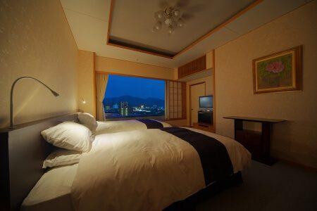 【千寿】和モダン特別室〈和室ツインベッド92平米〉
