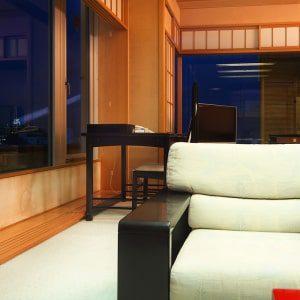 高知城を望む豊かな眺望、最上級の「貴賓室」