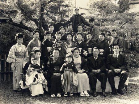 昭和32年当時の城西館スタッフ