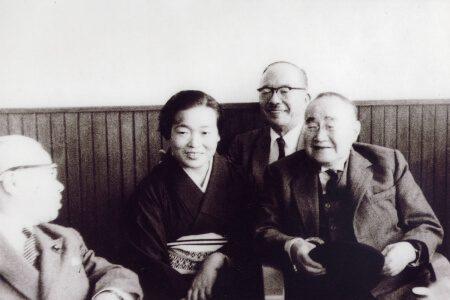吉田茂総理と藤本楠子先代