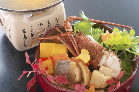 秋の魚介スープ仕立て