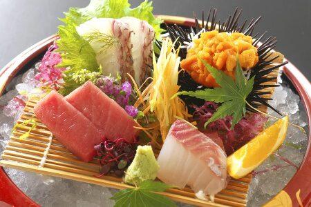 土佐銘魚のお造り四種