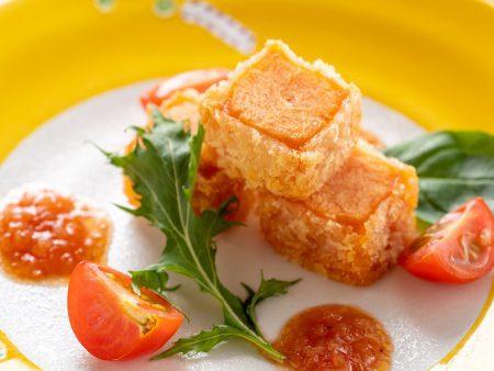 揚げトマト豆富