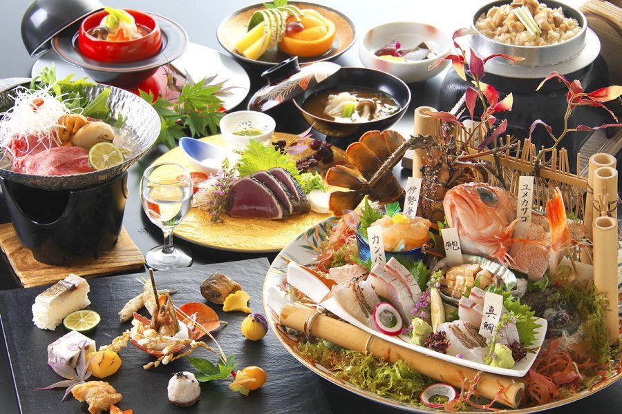 料理長厳選!土佐の銘魚五種盛り皿鉢付「祝の華会席」