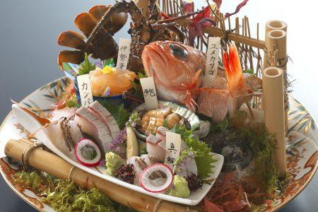 土佐銘魚5種盛り合わせ皿鉢