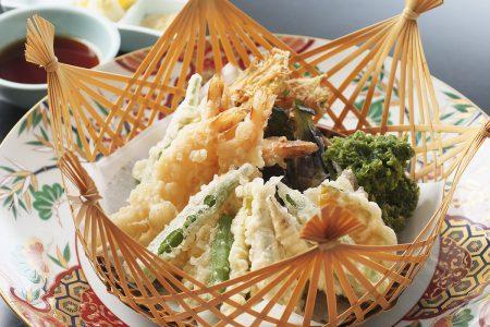 高知の食材お好み天ぷら