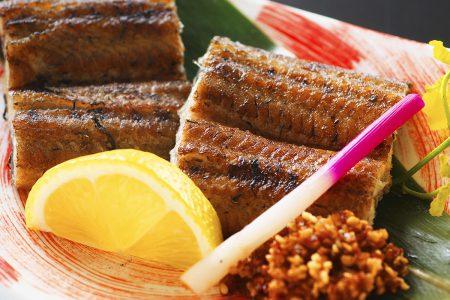 松肴「四万十鰻藁焼き」