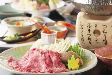 天ぷらしゃぶしゃぶ会席 和牛しゃぶコース