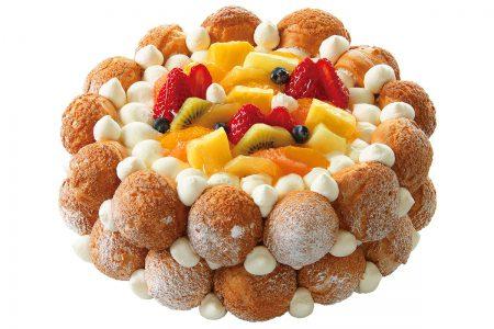 アニバーサリーケーキ(クロカンブッシュ)