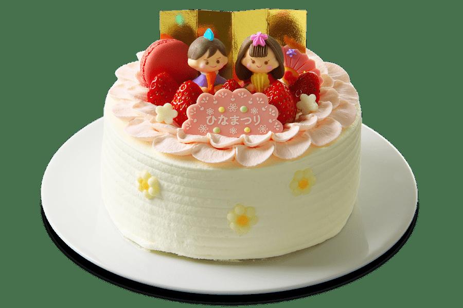 【桃の節句セット】ケーキ