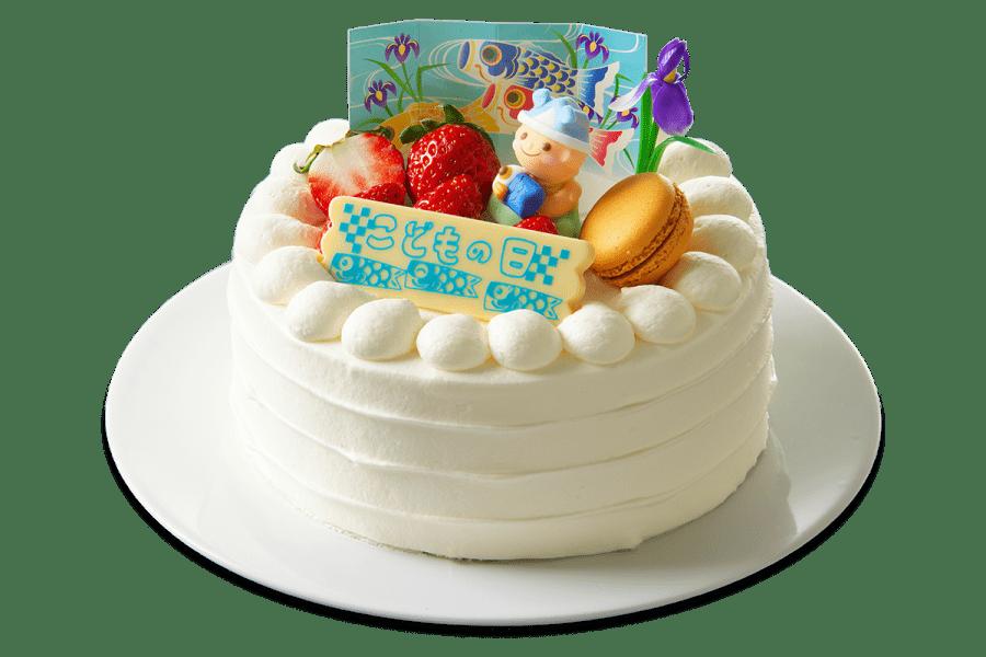 パティシェ手作り!の端午の節句ケーキ(5号15cm)