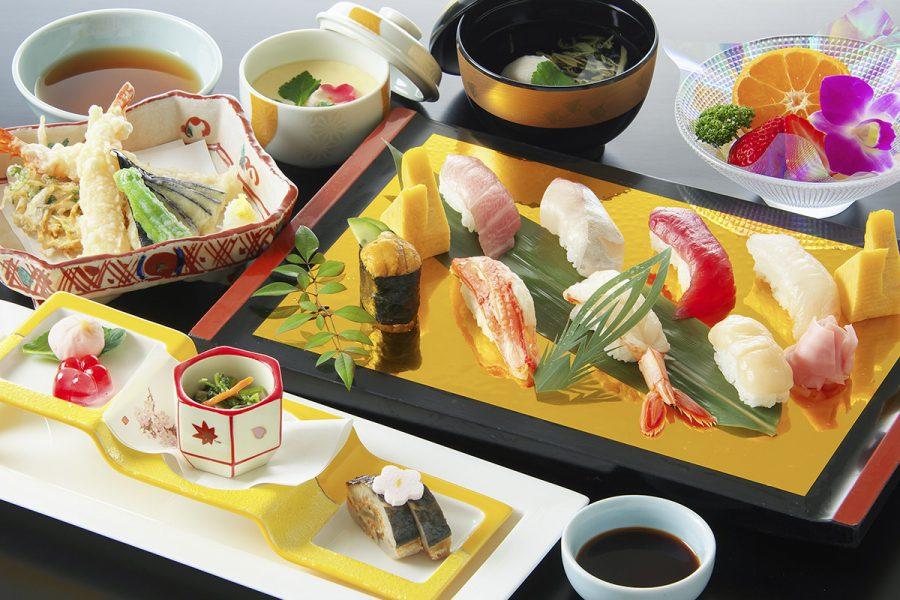 旬の寿司会席