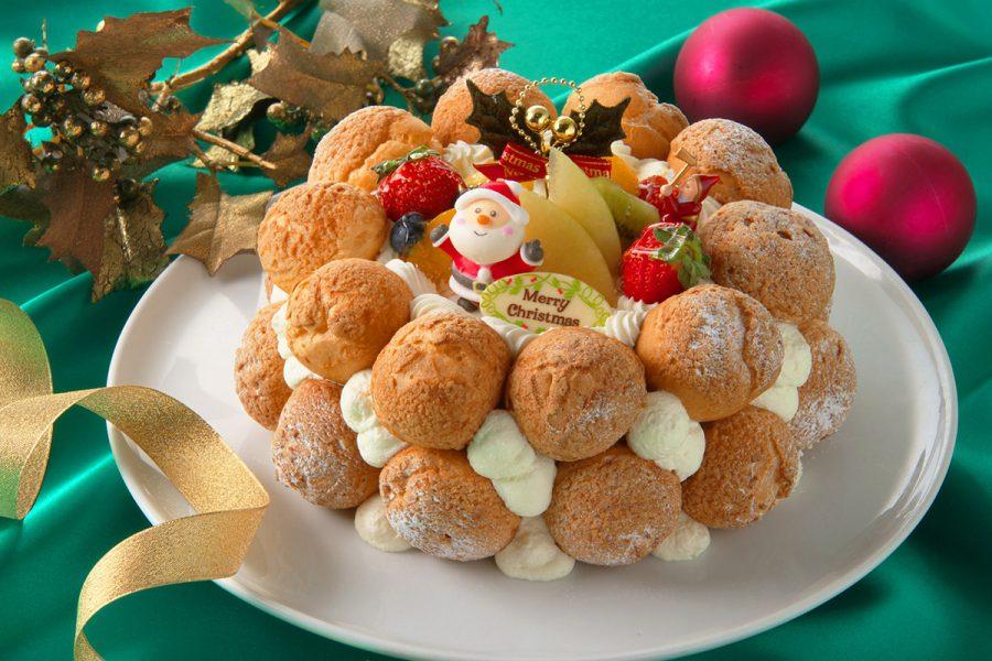 クリスマスケーキ クロカンブッシュ