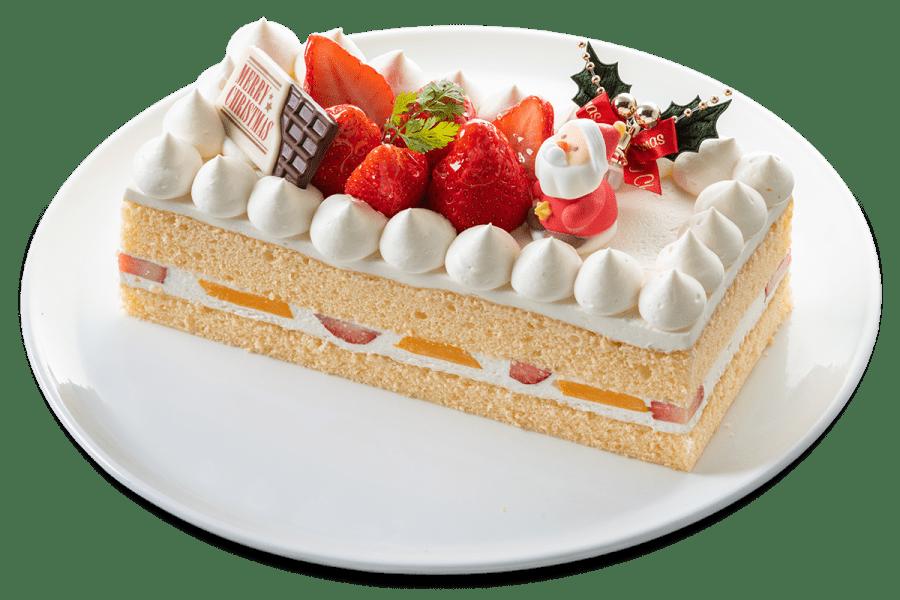 城西館クリスマスケーキ2021 生クリームケーキ