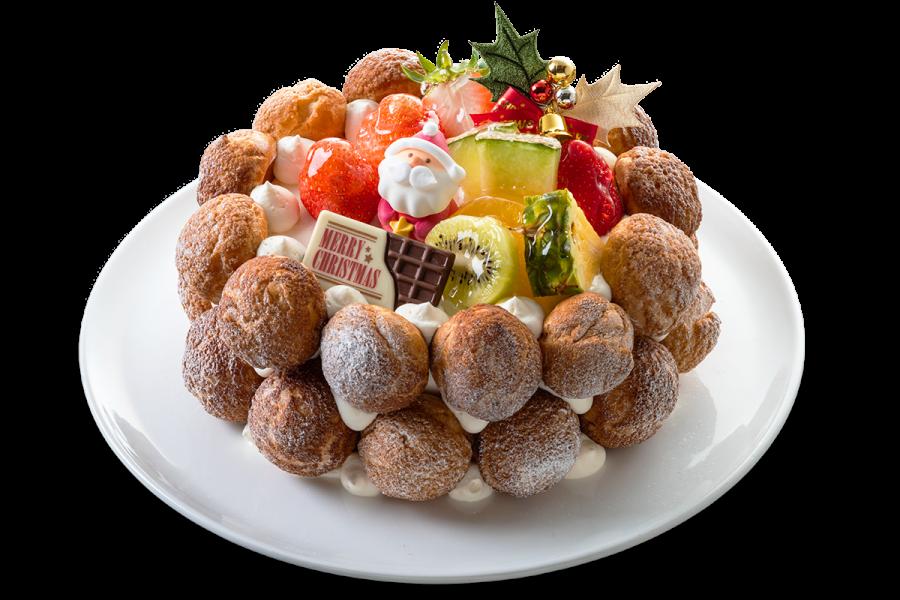 城西館クリスマスケーキ2021 クロカンブッシュ