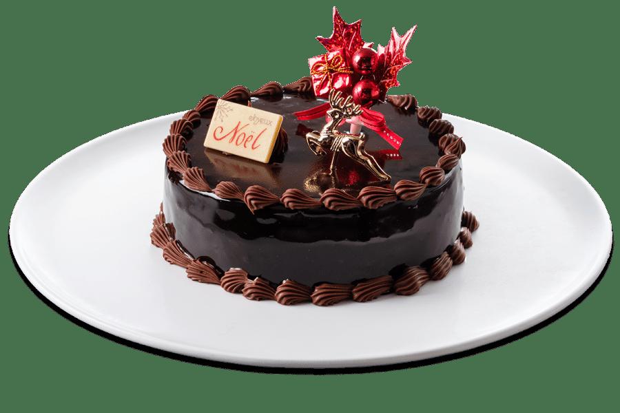 城西館クリスマスケーキ2021 ショコラ・ショコラ