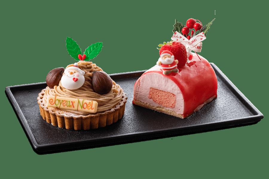 城西館クリスマスケーキ2021 デュエット