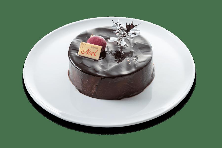 城西館のクリスマスケーキ2020「ショコラ・ショコラ」