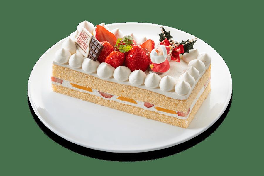 城西館のクリスマスケーキ2020「生クリームケーキ」