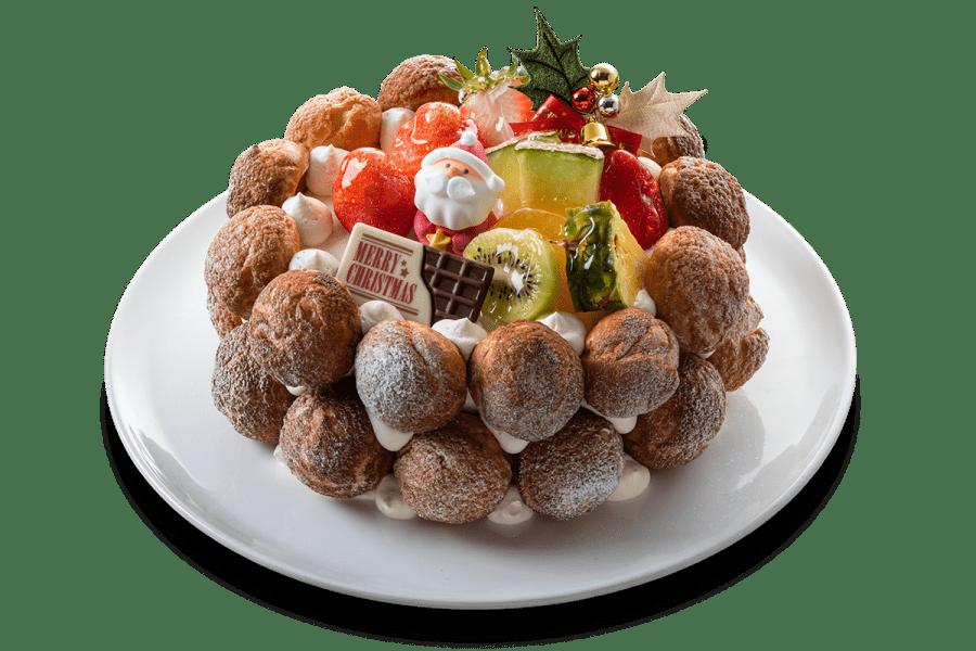 城西館のクリスマスケーキ2020「クロカンブッシュ」