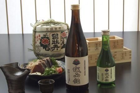 高知のホテル 城西館 オリジナルの日本酒