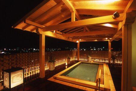 城西館 展望露天風呂「いごっそうの湯」