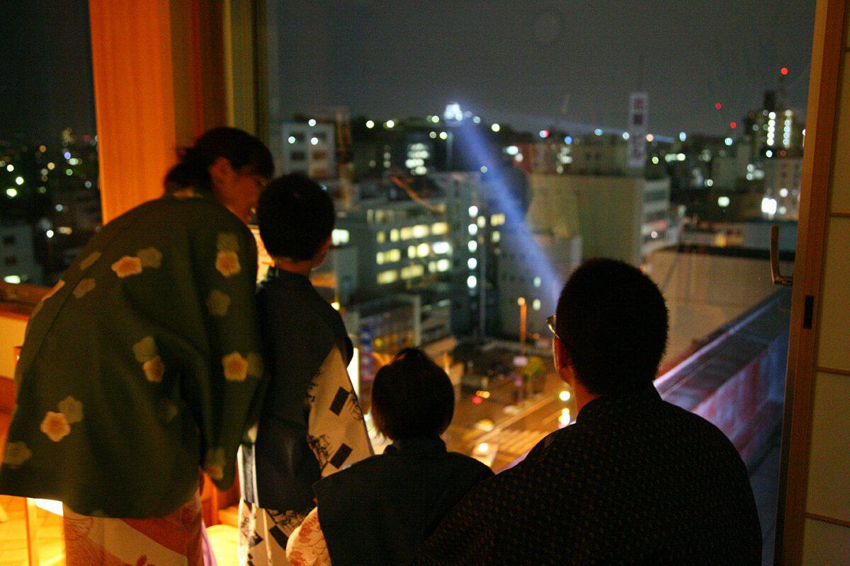 高知城 ライトアップ
