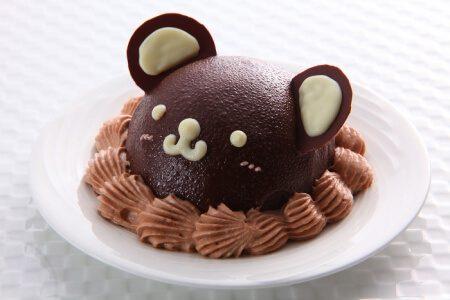miniくまちゃんケーキ(チョコ)