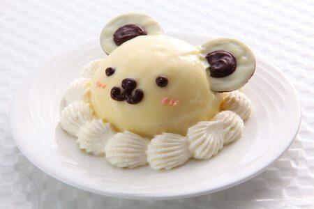 miniくまちゃんケーキ(ホワイトチョコ)
