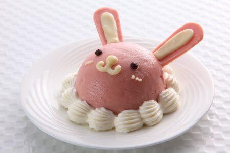 miniウサちゃんケーキ