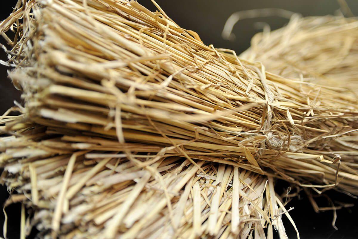 Straws are also locally produced.